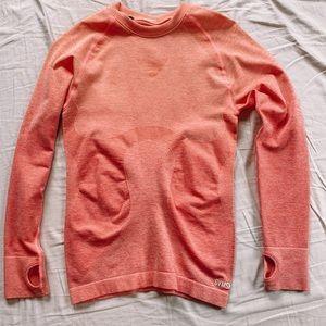 GymShark Pink Ombré Seamless